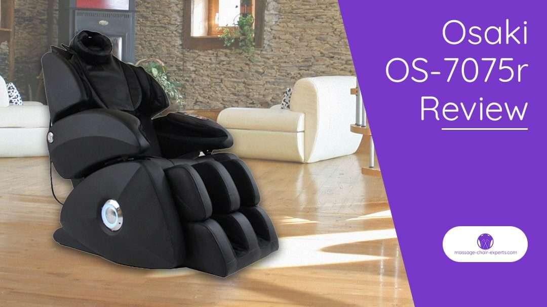 Osaki OS-7075r Review