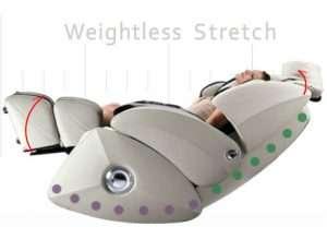 Osaki OS-7075r Weightless Stretch